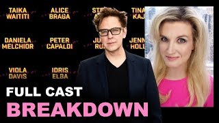 The Suicide Squad Cast - James Gunn 2021 BREAKDOWN