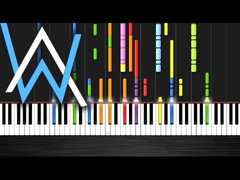 Alan Walker - Faded - IMPOSSIBLE PIANO by PlutaX