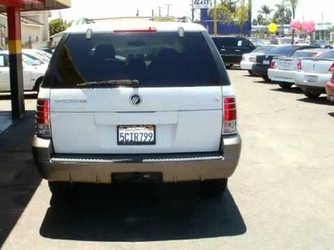 2003 Mercury Mountaineer (Garden Grove, California)