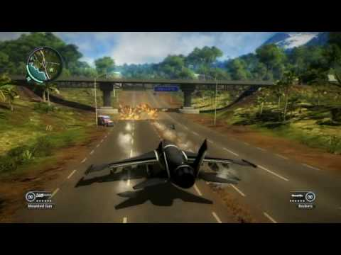 Just Cause 2 Air Propulsion Gun Fun Glitch