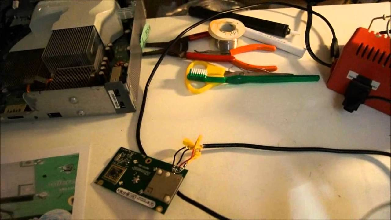 how to use xbox 360 wireless controllers on a pc using a spare part from a 360 youtube [ 1280 x 720 Pixel ]