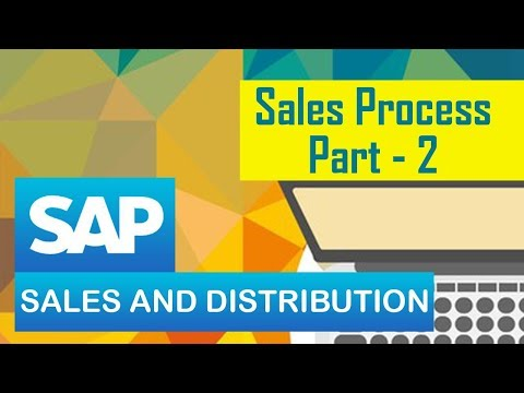 SAP SD | Sales Process | SAP Sales & Distribution Module | Part 2