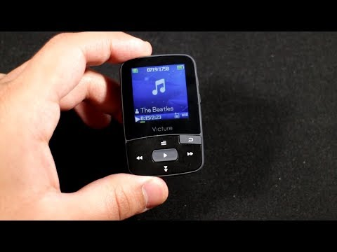 Victure M3 Music Player Unboxing and Review