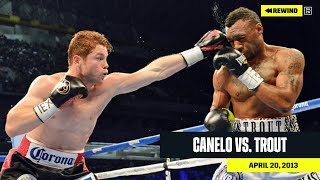 FULL FIGHT | Canelo Alvarez vs. Austin Trout (DAZN REWIND)