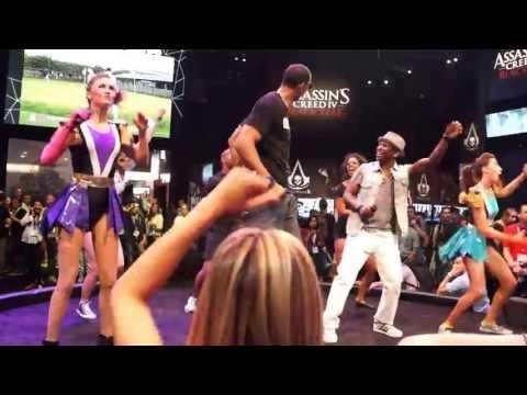 Just Dance E3 2013 Dancing Showcase Part 2 PSY Edition