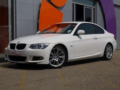 2010 bmw 320d m sport coupe 184 white 2d for sale in hampshire youtube. Black Bedroom Furniture Sets. Home Design Ideas