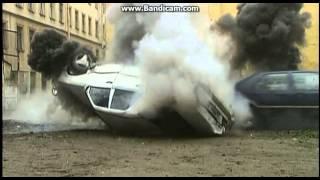 Близнецы.Серия 16.Car Chase Scene.