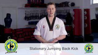 INSTRUCTOR TUTORIAL- Jumping back Kick
