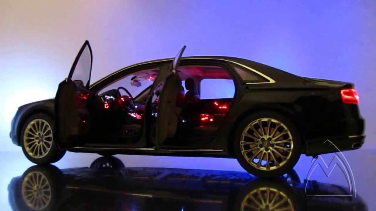 Audi A8 W12 >> Der neue Audi A8 W12 - LED Lichtsysteme in einem Modell ...