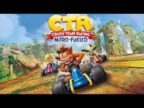 Crash Team Racing - Desafío Pinstripe