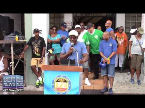 Entertainment Union President Leroy Simmons at Labour Day, September 5 2016