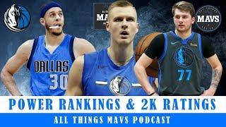 Espn's Nba Power Rankings & Nba 2k20 Ratings: Where Do The Mavs Stand?