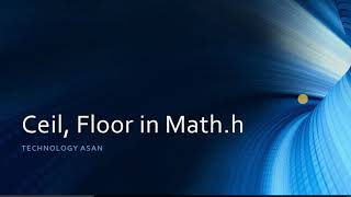 Ceil And Floor In Math H With Example Youtube