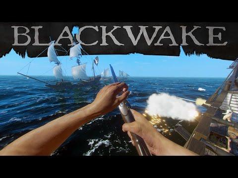 Blackwake - The Perfect Pirate Simulator - Youtuber Warzone! - Blackwake Gameplay Highlights pt 1