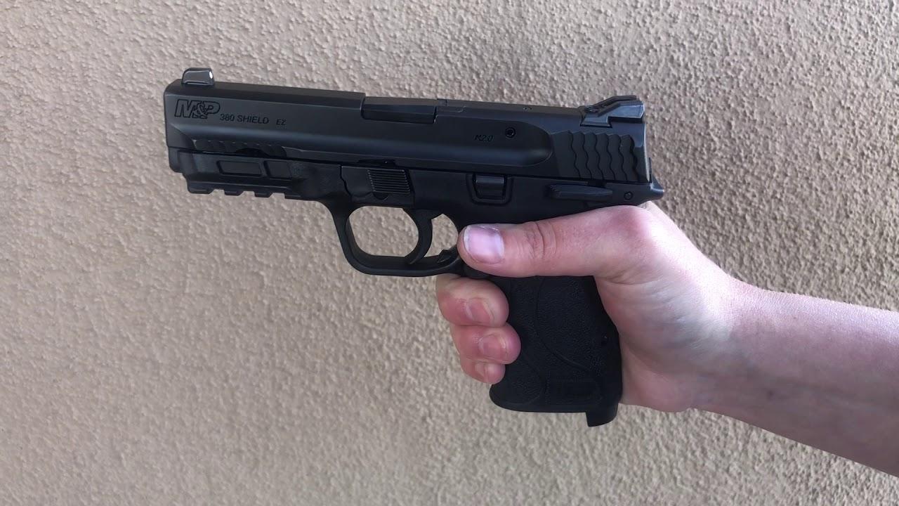 Grip safety - Smith & Wesson 380 EZ Gun review