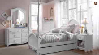 Lea 012-945 4/6 Full Poster Bed From Haley