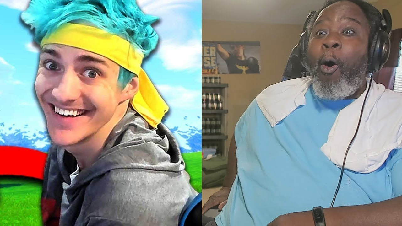Dad Reacts to the Best Fortnite Player! - #2 (Ninja) - Better Highlights