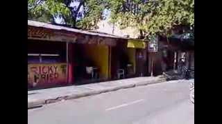 Main Street in Sosua, Dominican Republic, Jan  2014