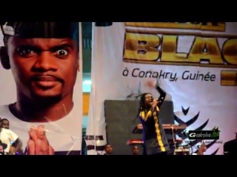 La performance de Banlieuz'art au Concert Black M