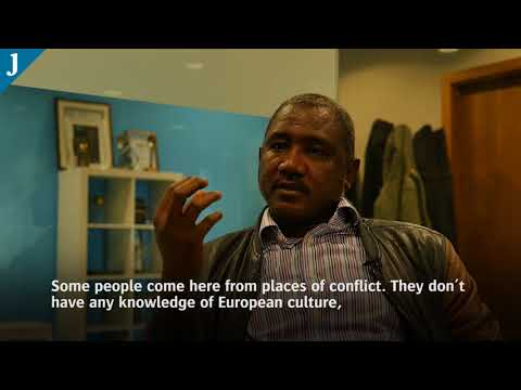 A Sudanese asylum seeker discusses life in Ireland