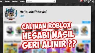 ✔️ ÇALINAN ROBLOX HESABI NASIL GERİ ALINIR ?? ✔️ / Roblox