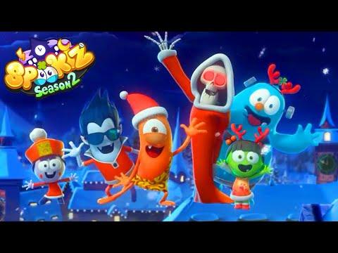 Spookiz Bahasa Indonesia   Edisi Lagu Natal!   Kartun Lucu 2019
