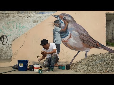 JADE: Graffiti, Street Art, and Murals, in Lima, Peru
