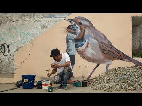 JADE: Graffiti, Street Art, and Murals, in Lima, Peru