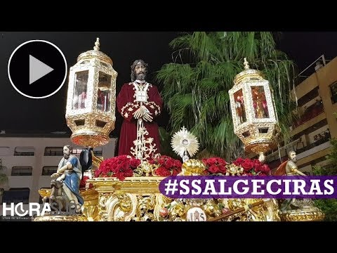 🎥 Medinaceli y Esperanza vuelven a procesionar por las calles de Algeciras