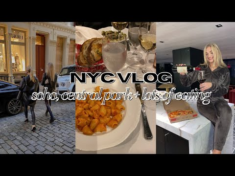 NYC VLOG: carbone, central park, soho +more (a few days in my life!) *my foodie friend jamie visits*