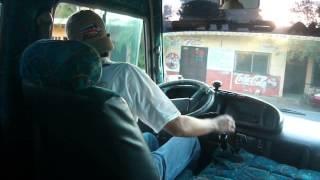 Manejando Toyota Coaster U 2 La Arena Chitr