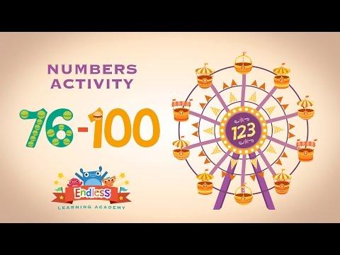 Endless Numbers 76-100