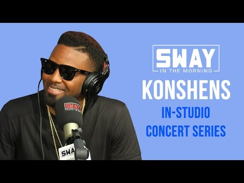 Sway in the Morning Concert Series: Konshens Performs Live In-Studio