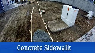 Concrete Sidewalk for Beginners. Tips and Technics