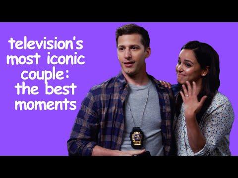 TOP 10 Jake and Amy Moments   Brooklyn Nine-Nine   Comedy Bites