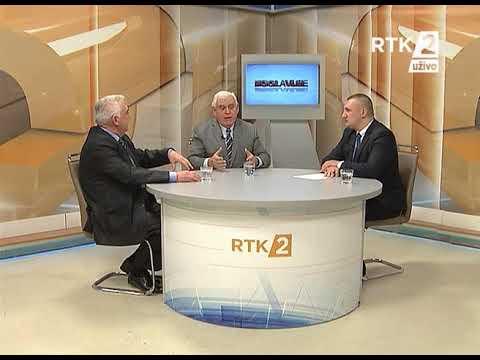 """""""POGLAVLJE"""" RTK2 gosti Azem Vlasi i Momčilo Trajkovic 06.12.2017"""