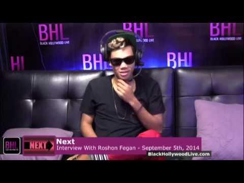 Next w/ Roshon Fegan Interview   September 5th, 2014   Black Hollywood Live