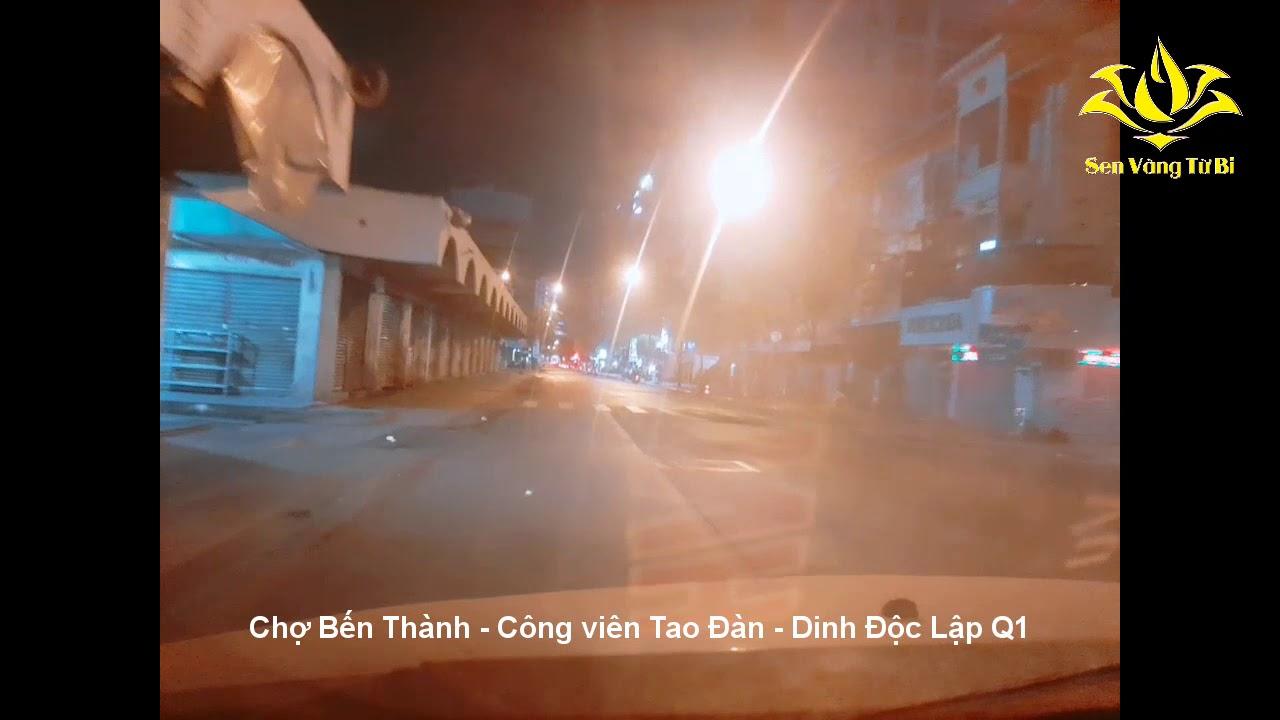 Sài Gòn và Q1: Ngày đầu tiên cách ly toàn xã hội 15 ngày vắng tanh 01-04-2020 (Phòng chống Covid-19)