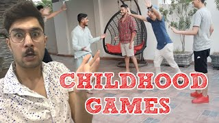 CHILDHOOD GAMES with WOLFCREW  Vlog 24