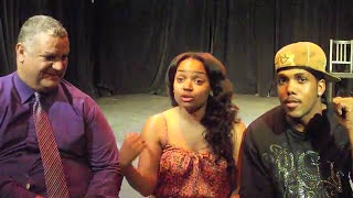 KYLA PRATT & TYRONE BURTON, JITA INTERVIEW ENCOURAGING  ACTORS