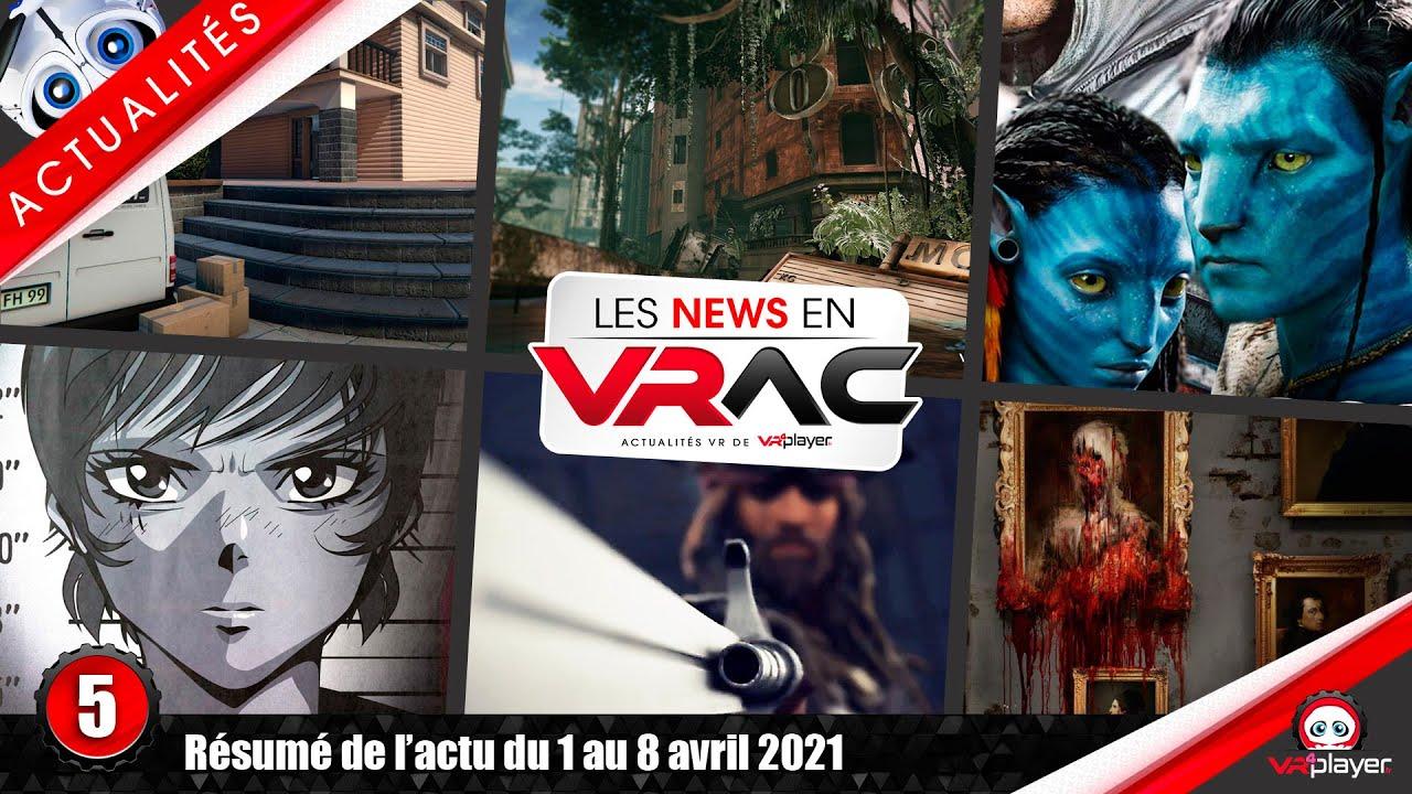 Actualités PSVR : Layers of fear VR, Runner, Wanderer, SnowDrop Ubisoft, Alvo VR, PlayStation VR