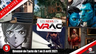 Actualités PSVR : Layers of fear VR, Runner, Wanderer, SnowDrop Ubisoft, Alvo VR, PlayStation VR
