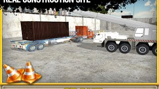 Cargo Construction Crane Simulator 3D - Android Gameplay Video