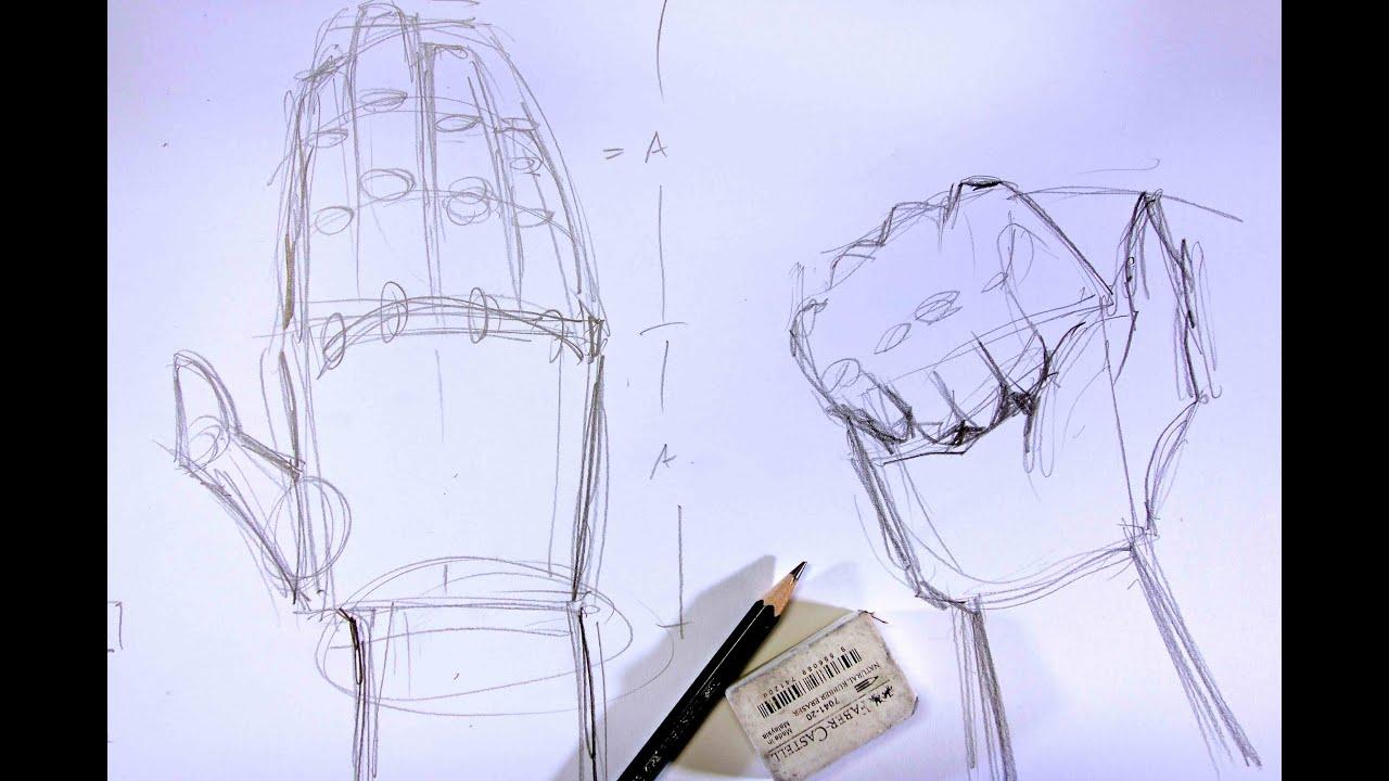 Hände Skizzieren Für Anfänger Ganz Einfach Zeichnen Lernen 13