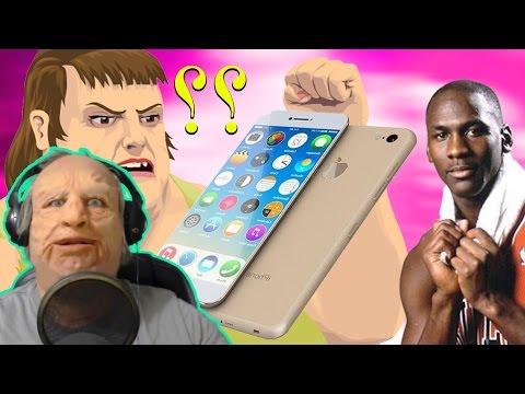 ايفون 7 ومايكل جوردن في هابي ويلز + مرحلة جدو الشايب :)