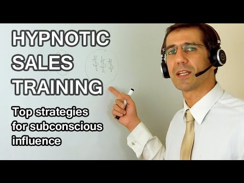 2h SUBCONSCIOUS PERSUASION TRAINING. Learn to Easily Influence Others. Hypnotic Sales Techniques