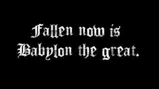Avenged Sevenfold - Beast and the Harlot Lyrics HD
