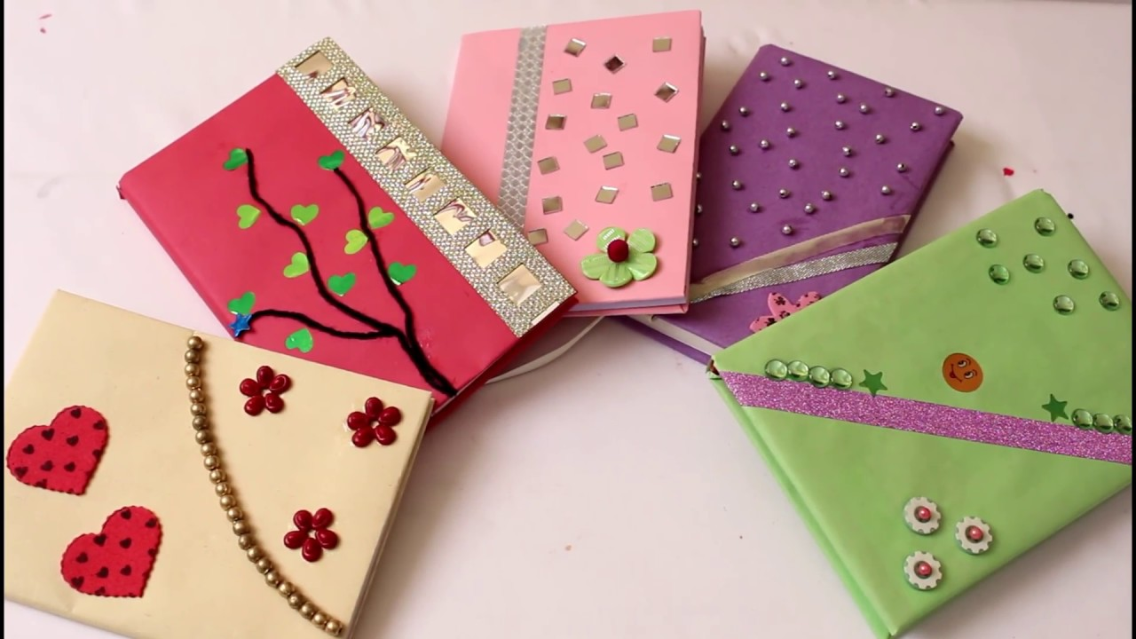 5 Personal Diary Decoration Idea Diy Youtube