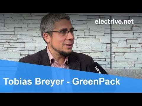 Tobias Breyer über mobile Batteriemodule von GreenPack
