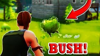BUSH UPDATE! (Fortnite Battle Royale)